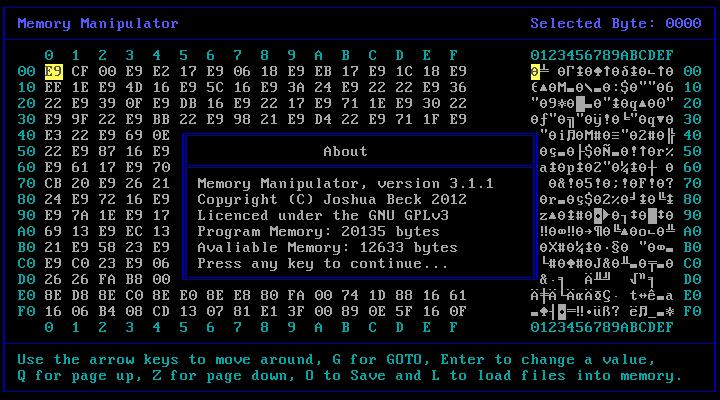 Edytor pamięci RAM