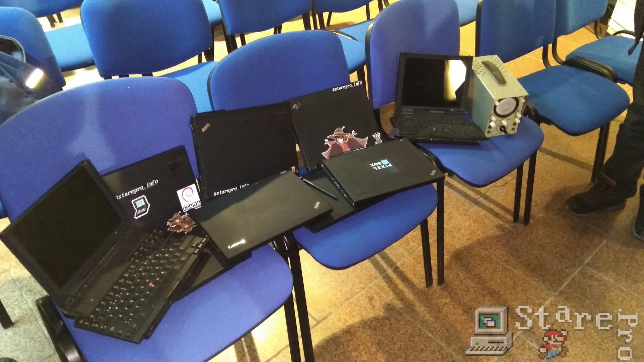 Zdjęcie grupowe ThinkPadów